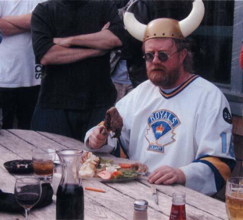 Bobbo, Viking disc warrior.