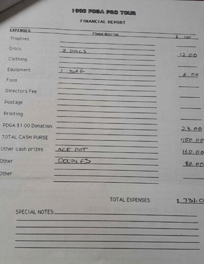 1990 financial report