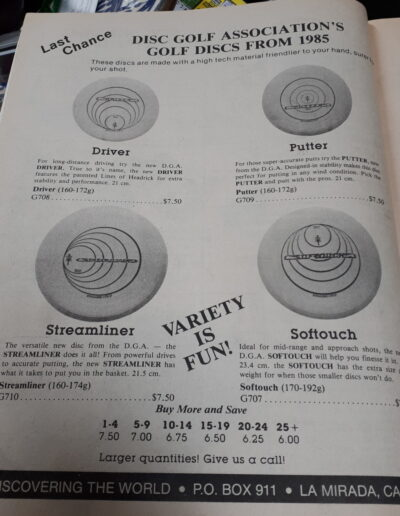 disc varieties